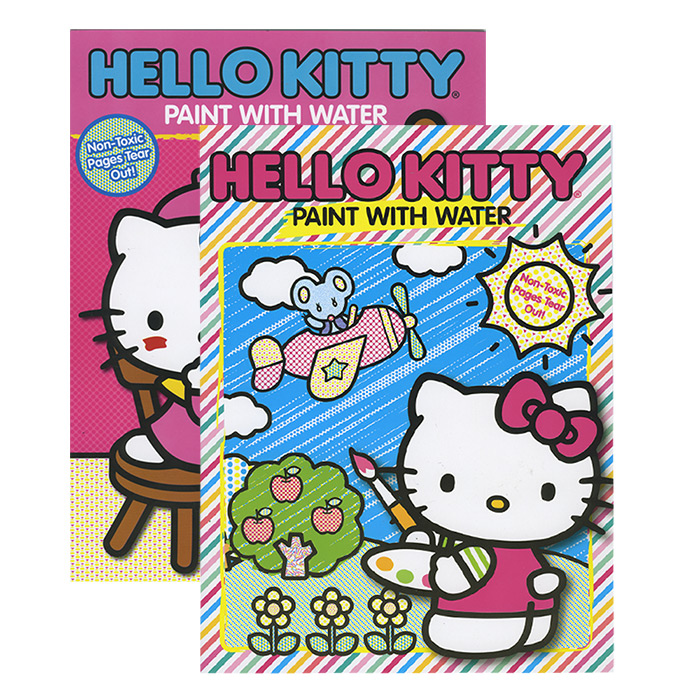 HELLO KITTY Paint With Water