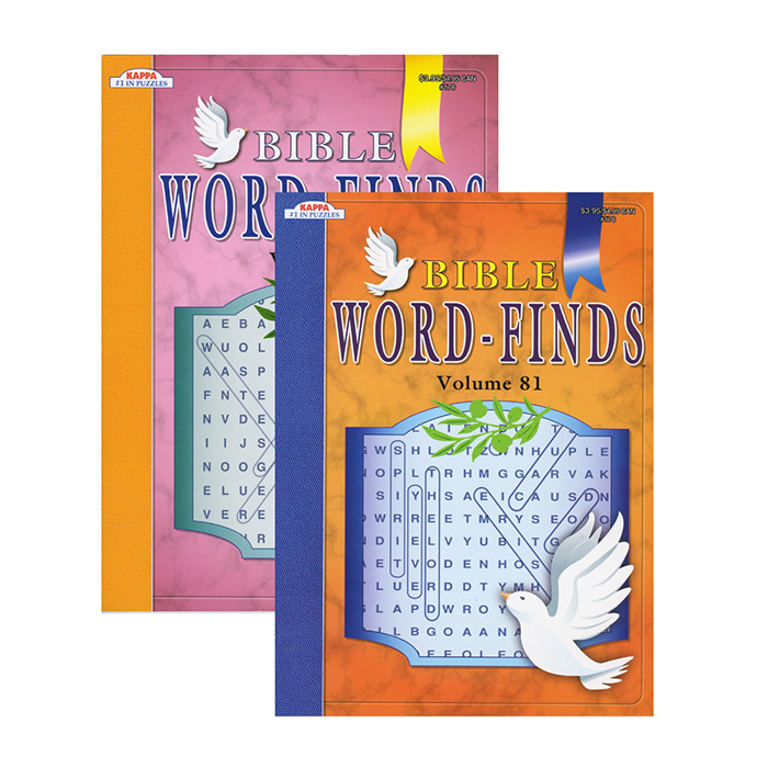 Kappa Bible Series Word Finds Puzzle Book