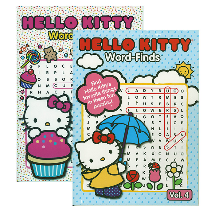HELLO KITTY Word Finds Puzzle Book