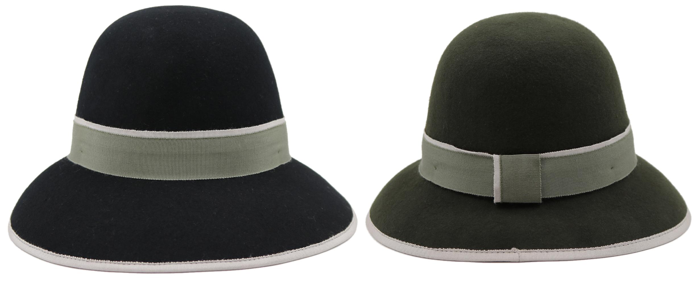 Women's Bowler Winter Hats w/Adjustable HEADBAND