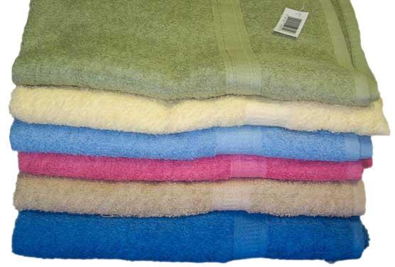 Solid Color Terry 8.5lb Bath TOWELs