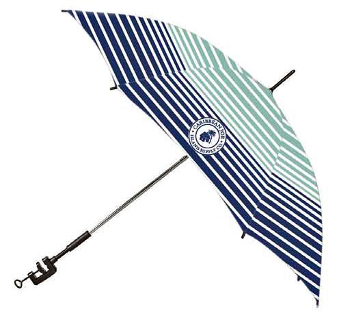 Caribbean Joe Clamp-On Umbrellas
