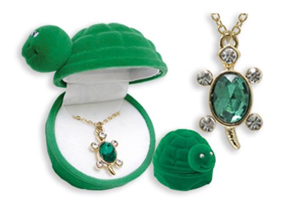 Turtle Pendants w/ FIGURINE Box