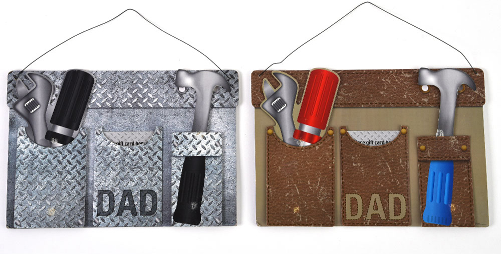 ''Father's Day Hanging ''''TOOL BELT'''' Dad Plaque''