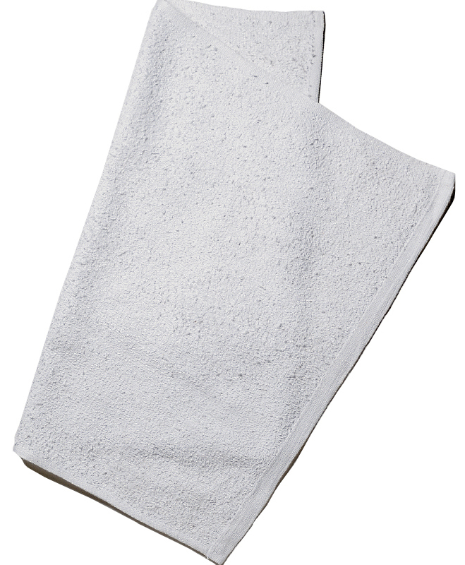Economical Rally Fingertip TOWELs - White