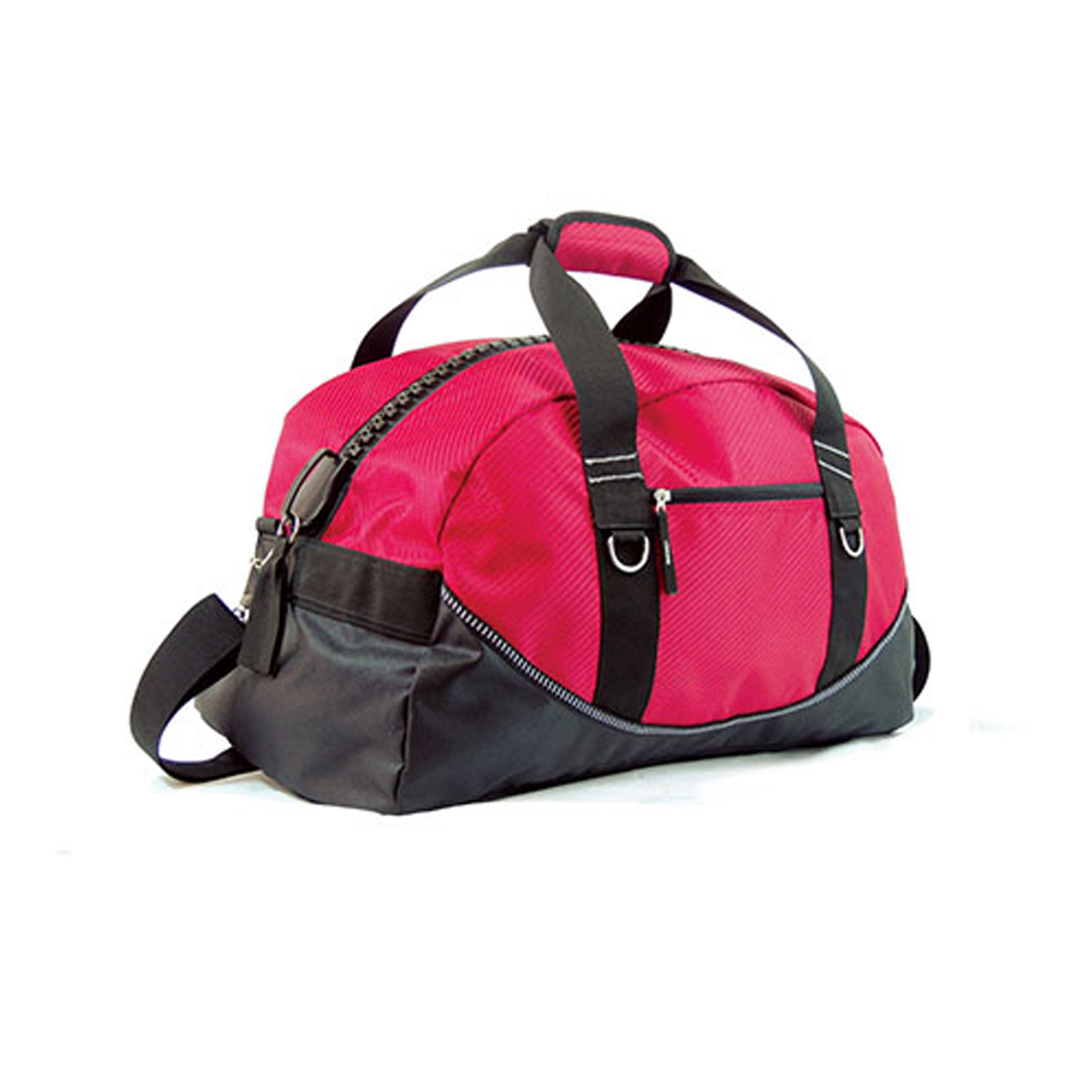Mega Zipper DUFFLE BAGs - Red/Black Two-Tone Only