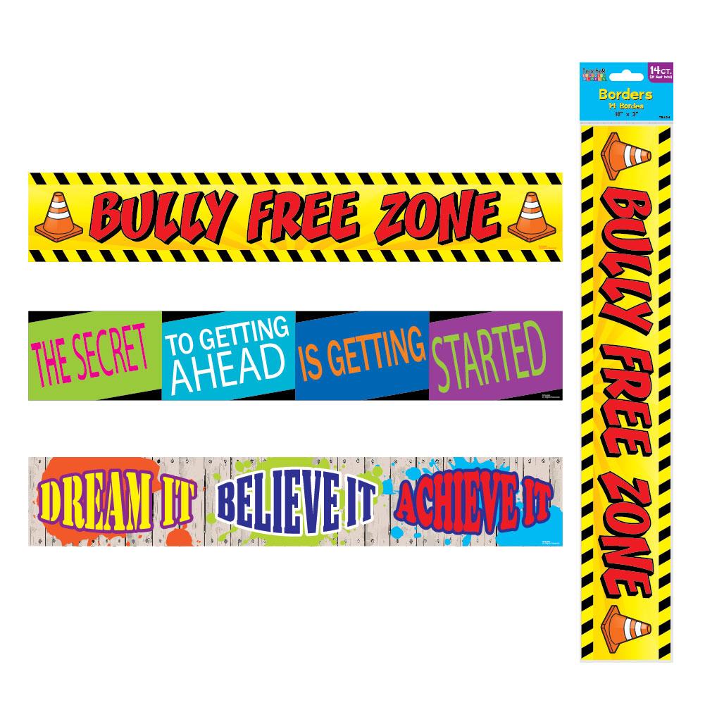 14-Pack Bulletin Board Borders