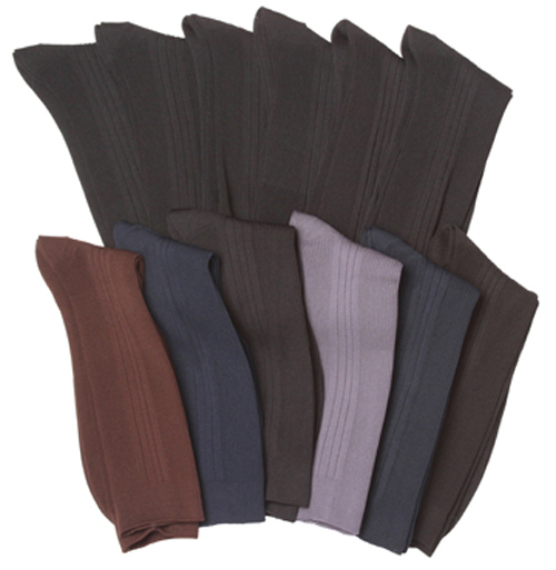 Men's Designer DRESS Socks - Assorted Colors - Size 10-13