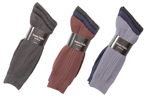 Men's Designer DRESS Socks - Assorted Colors - Size 10-13 - 3-Pair Packs