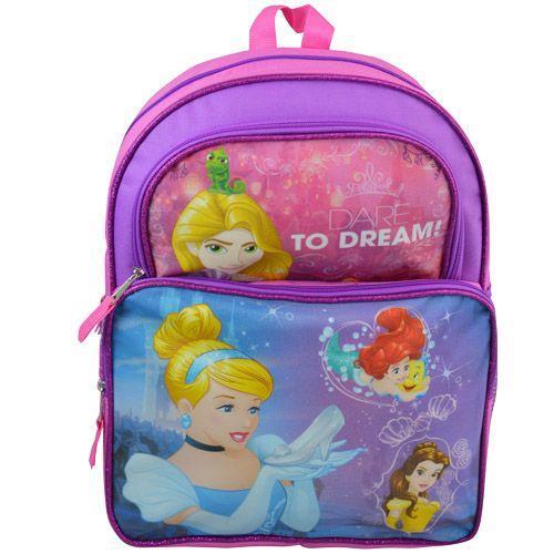 DISNEY Princess 16'' Cargo Backpacks