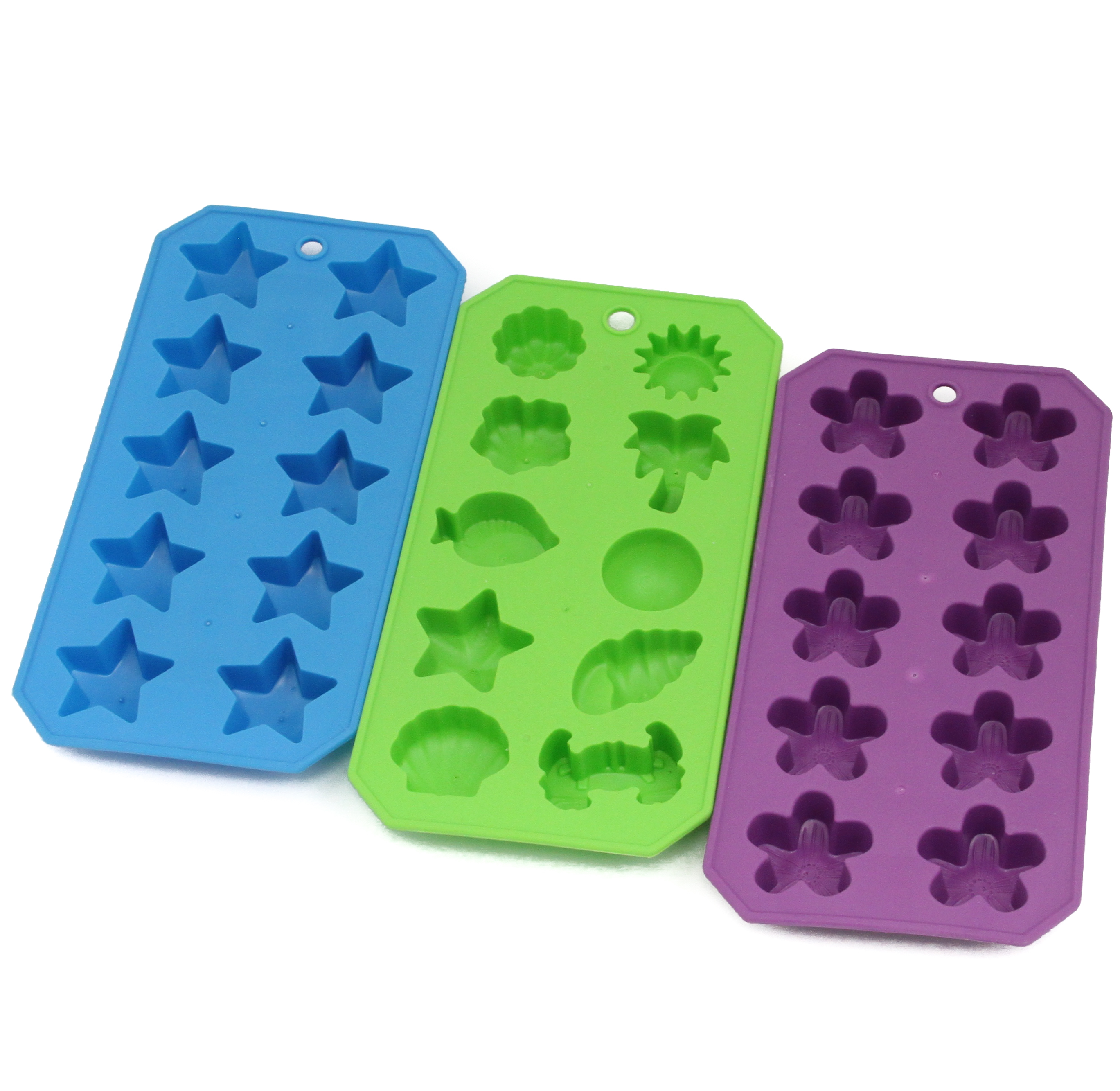 Thermoplastic Shapes Ice Cube Trays