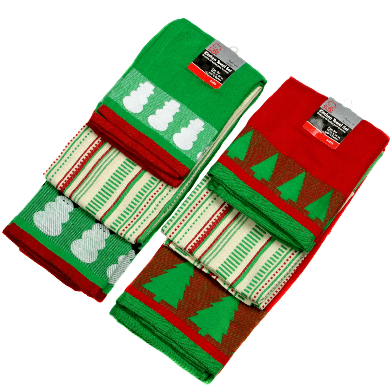 Christmas TOWEL 3 Piece Sets