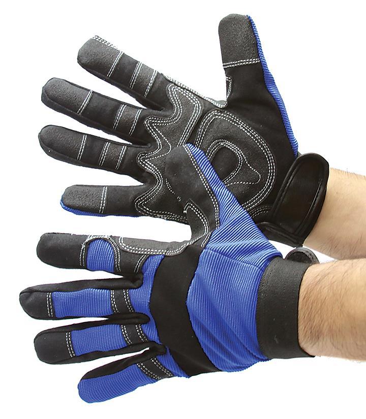 人造皮革机械手套尺寸小