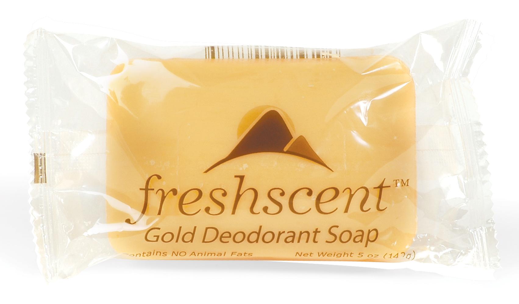 Freshscent 5 oz. Gold Deodorant SOAP