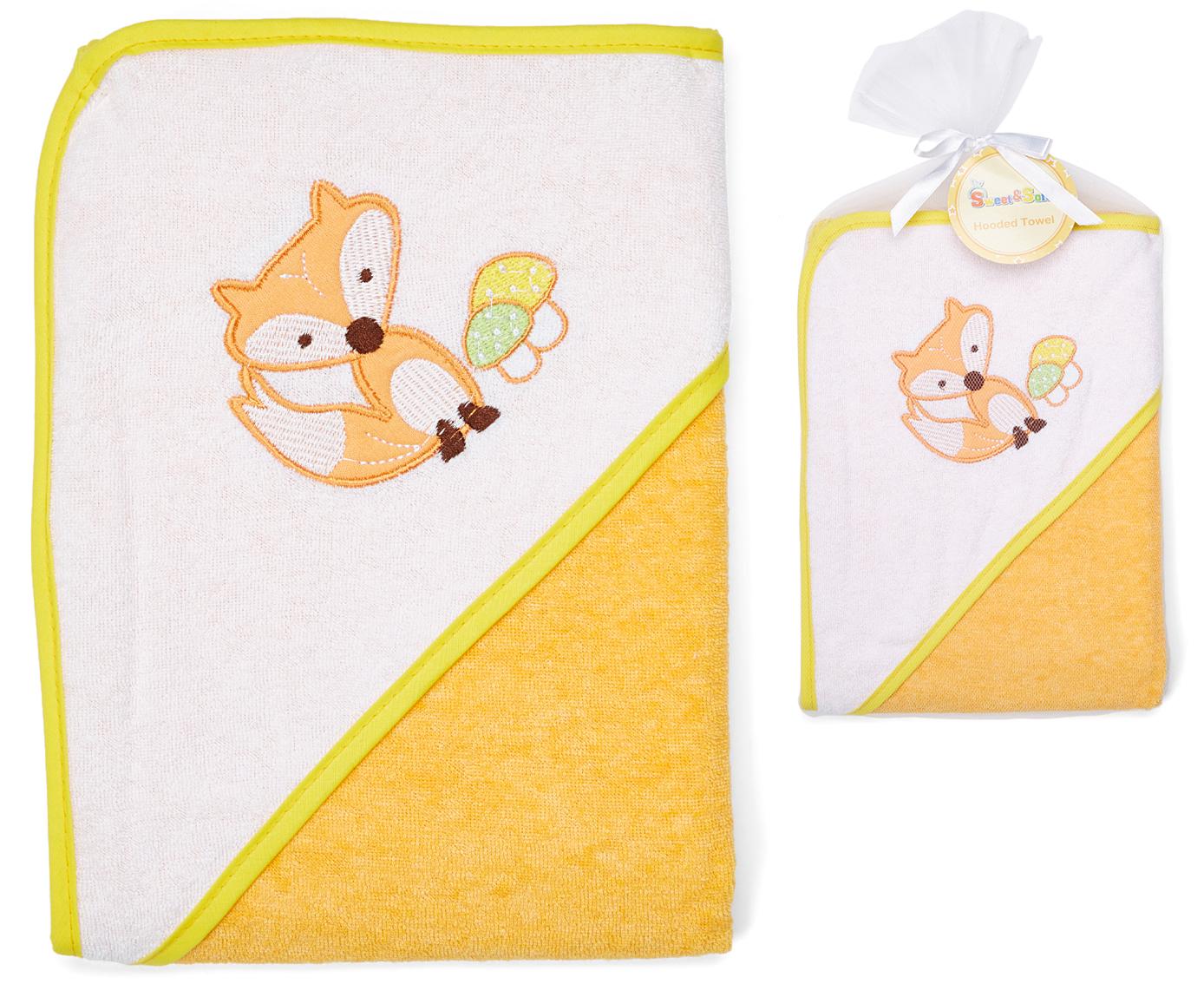 Hooded Baby TOWELs w/ Mesh Bag - 30'' x 30''
