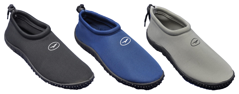 Men's Neoprene Aqua SHOES - Sizes 7-13